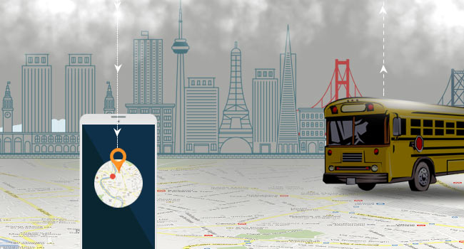 School Bus Tracking   GPS Tracker   Car Tracking Device